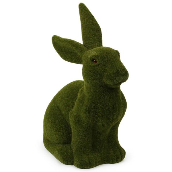 20inch moss green Easter bunny