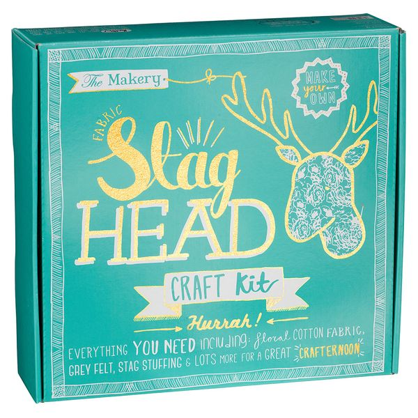 Make your own stag head craft kit