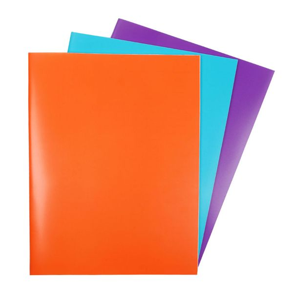 Multicoloured A5 exercise books - pack of 3