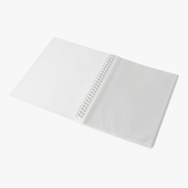 A5 Frosted Wiro Display Book