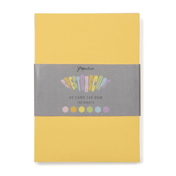 Spectrascope pastel A5 card - pack of 100