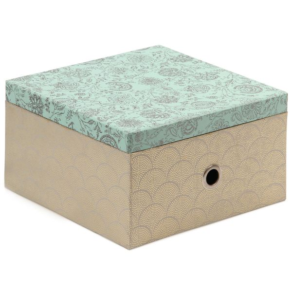 Indian foil large stationery box