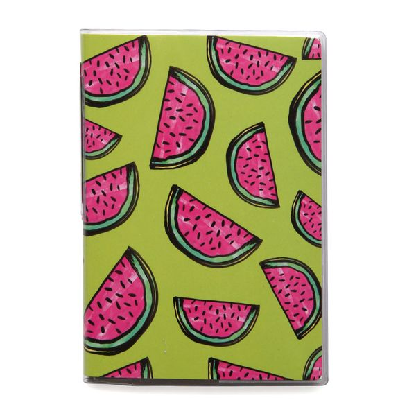 Watermelons small plastic notebook