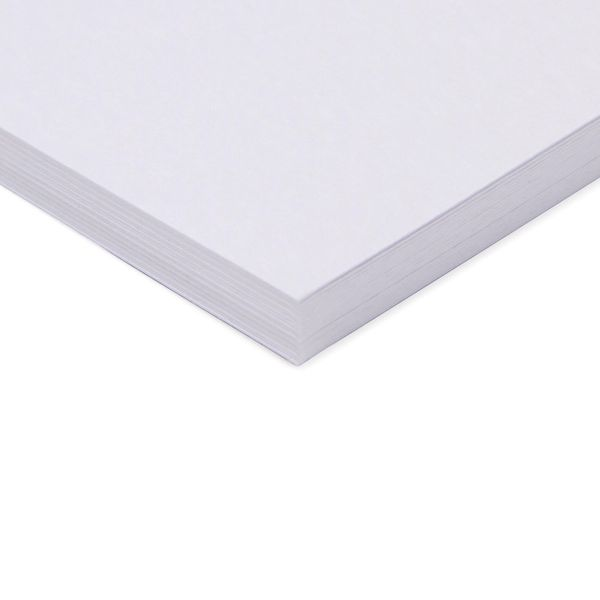 Paperworks hammer white A4 card - pack of 20