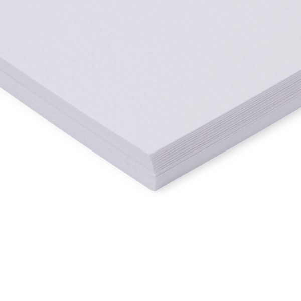 Paperworks laid white A4 card - pack of 20