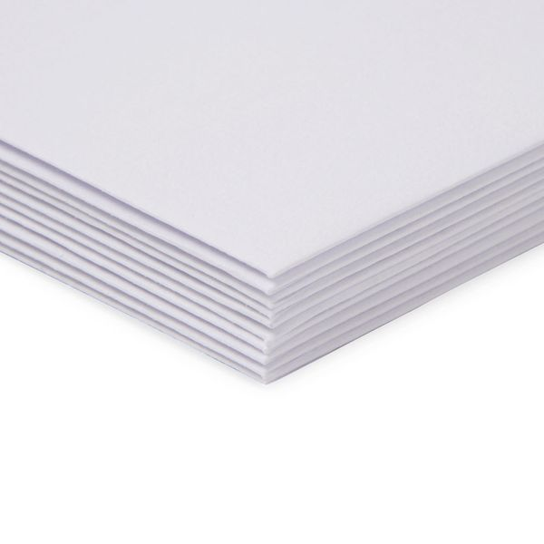 Paperworks laid white C6 envelopes - pack of 10