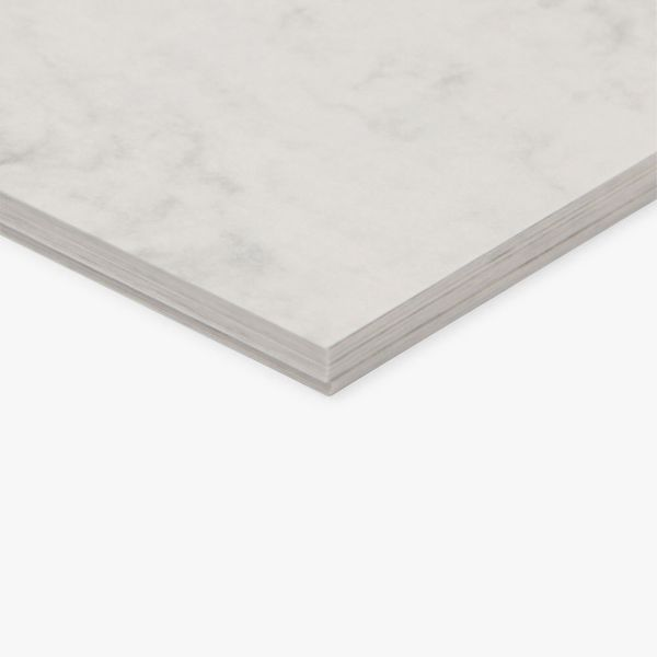 Paperworks marble white A4 card - pack of 20