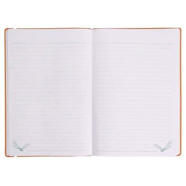 Gothic Garden notebook with paperclip