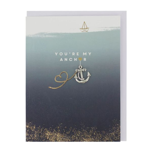 You're my anchor Valentine's card