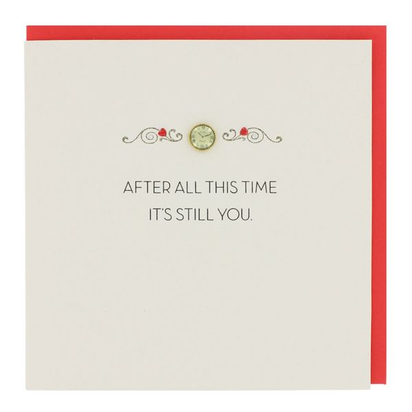 After all this time Valentine's card