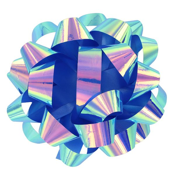 Large Electric Blue Bow