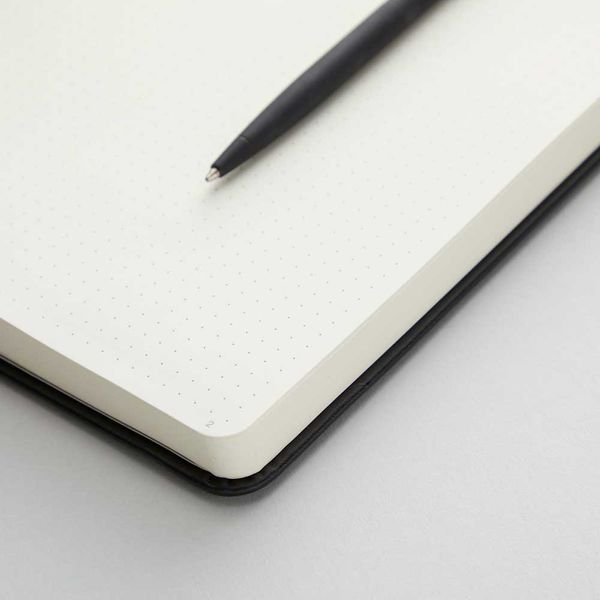 Agenzio black dot small notebook