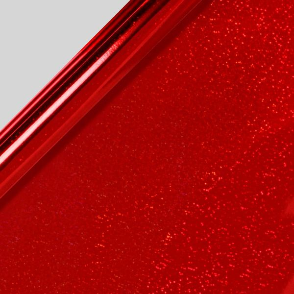 Red glitter Christmas wrapping paper