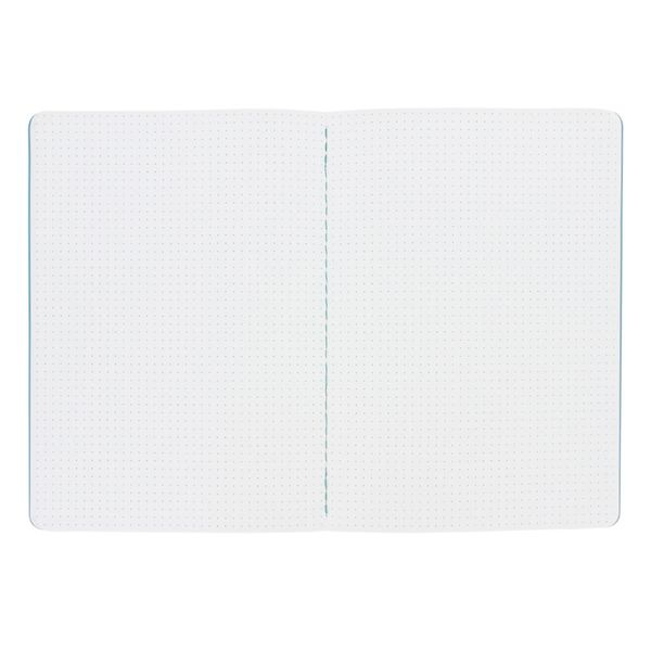 Blue grid dot A5 exercise book