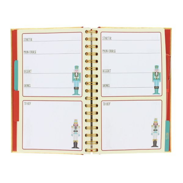 Nutcrackers Christmas planner