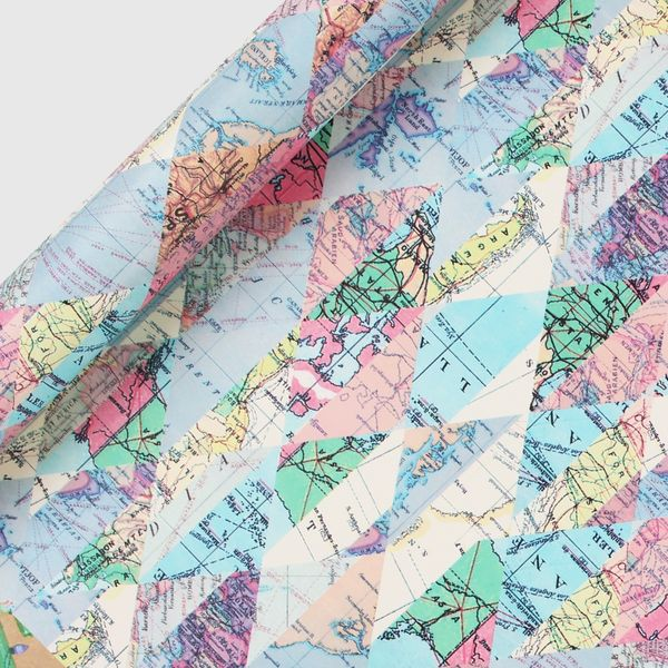 Diamond maps 3m wrapping paper