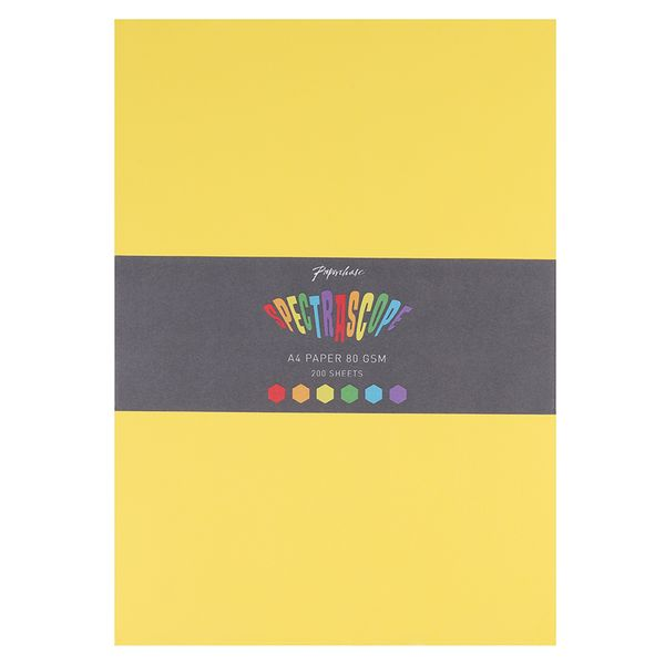 Spectrascope A4 coloured paper - 200 sheets of assorted colours