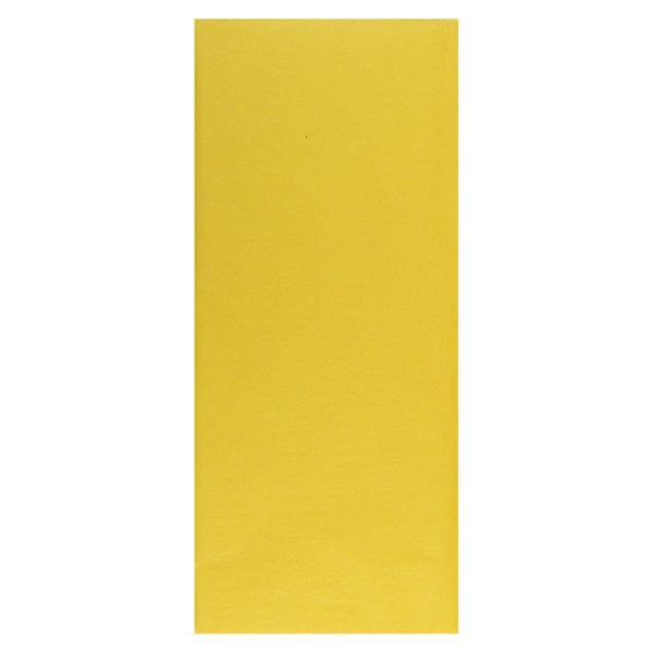 Yellow tissue - 5 sheets