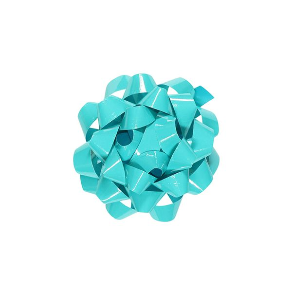 Turquoise high gloss small bow