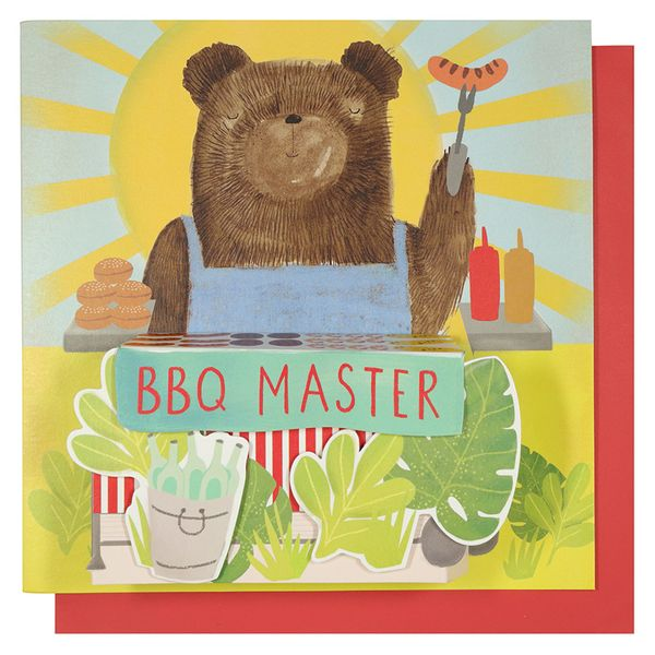 BBQ master Father's day card