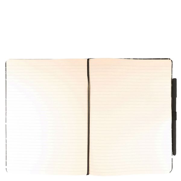Agenzio large constellation lined notebook with pen