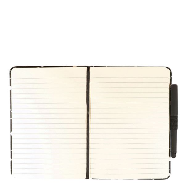 Agenzio hard constellation ruled small notebook with pen