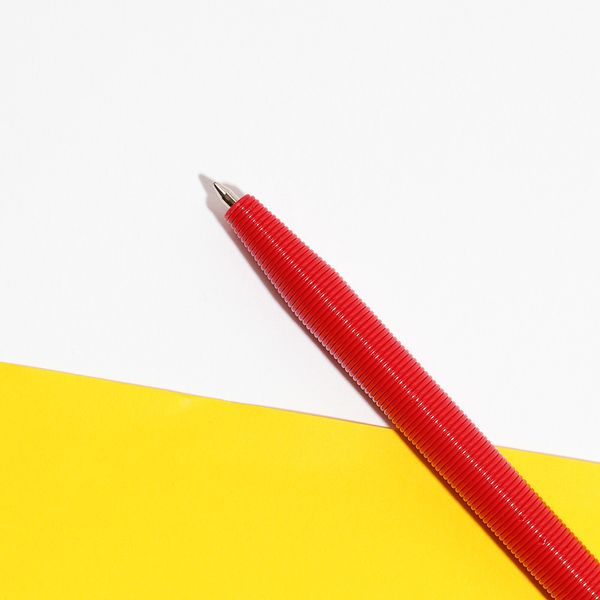 Conscious Living 3D printed red pen