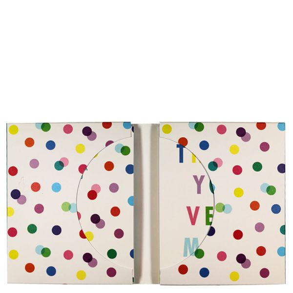 Multi spot thank you cards - pack of 12