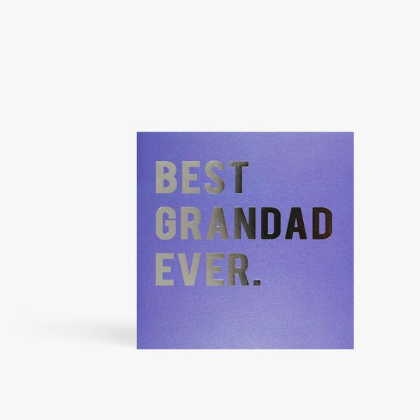 Best grandad ever Father's day card
