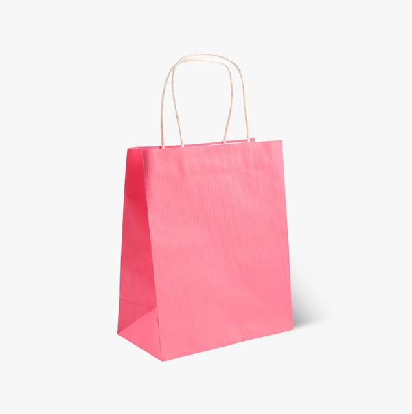 Multi colour gift bags - pack of 5