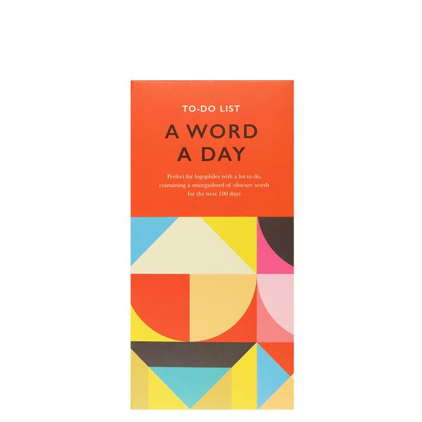 'Word a day' to-do list
