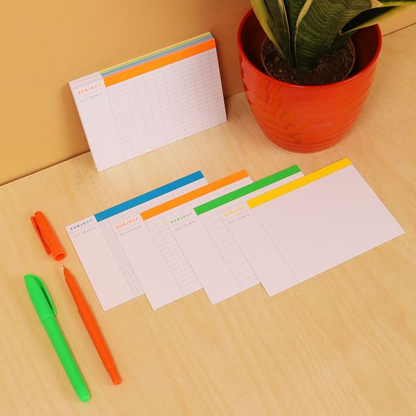 Mixed revision cards - pack of 40