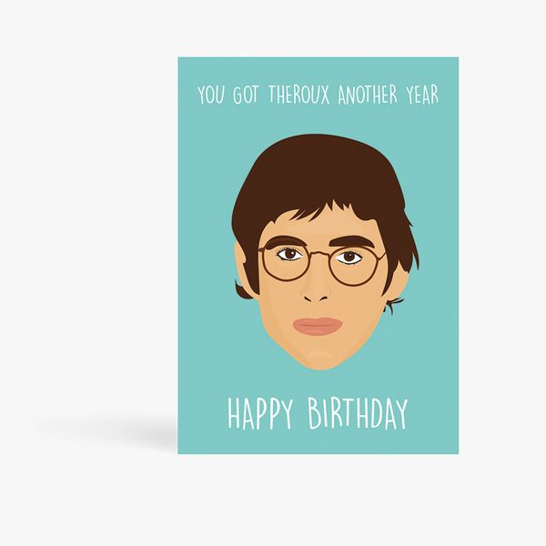 Rumble Cards Louis Theroux birthday card