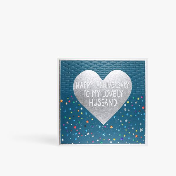 To my lovely husband anniversary card