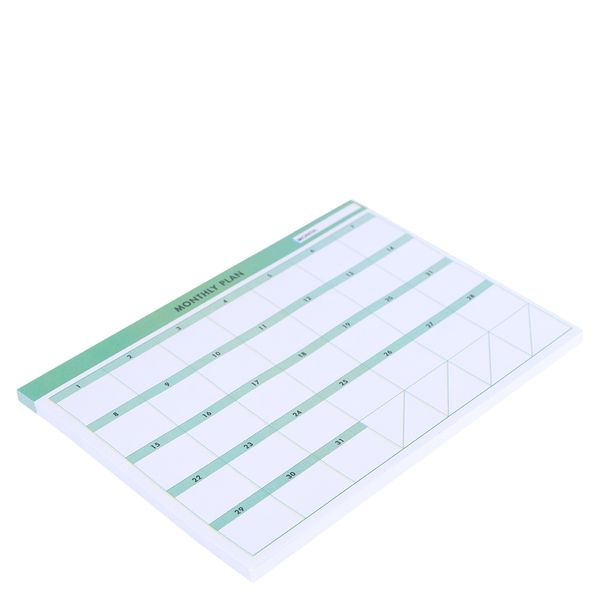 Monthly planner sticky notes