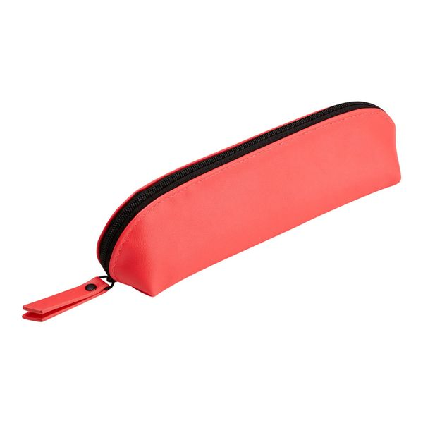 Agenzio punch pink oval pencil case