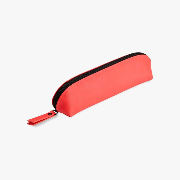 Agenzio Oval Pencil Case in Punch Pink