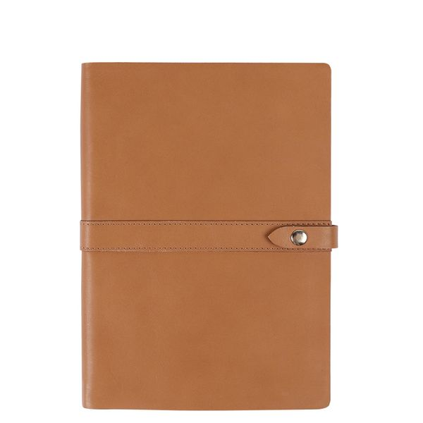 A5 real leather notebook