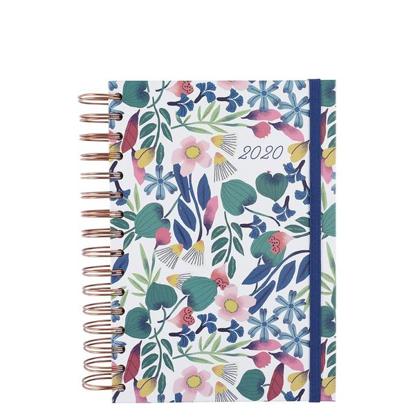 A5 wiro floral 2020 diary