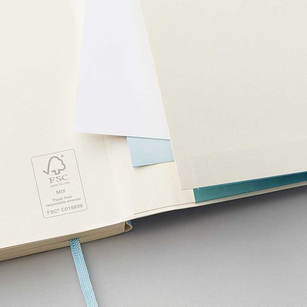 Agenzio Small Lined Notebook - Pavilion Blue