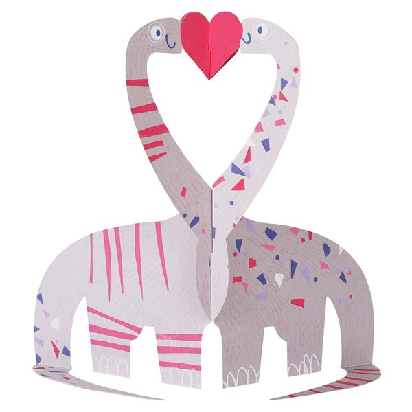 Our love is Dino-mite card