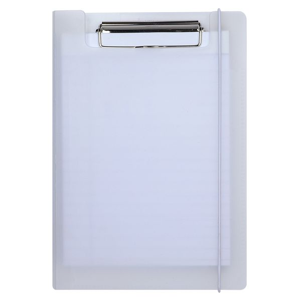 A5 frosted padfolio