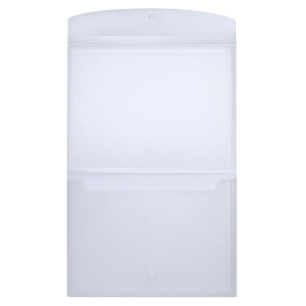 Frosted double pocket document file