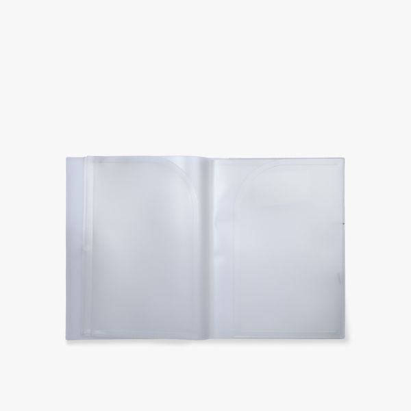 A4 Frosted Display Folder