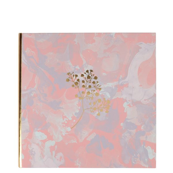 Art Deco self adhesive marble photo album