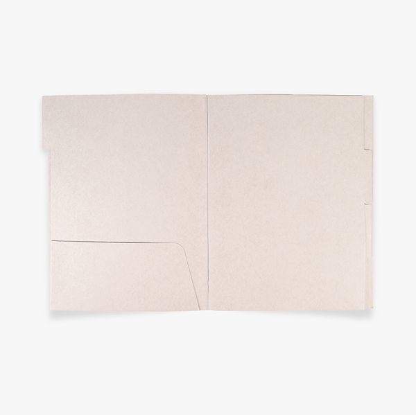 A4 Grey Document Wallet with Dividers