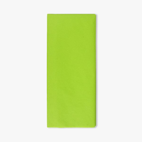 Green tissue paper - pack of 5 sheets