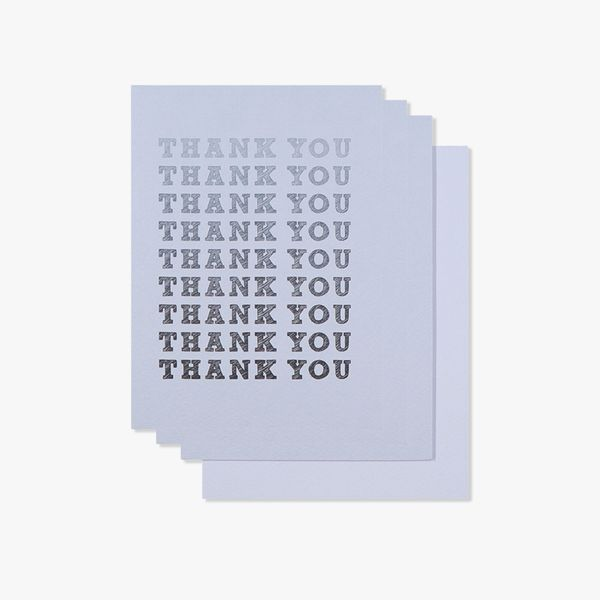Ombre thank you cards - pack of 10