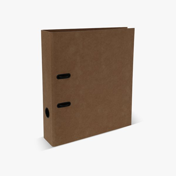 A4 Brown Kraft Lever Arch File