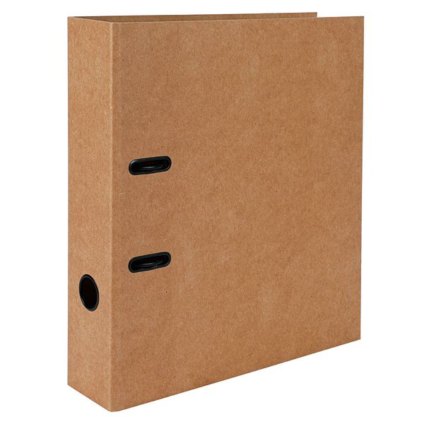 Brown Kraft A4 lever arch file
